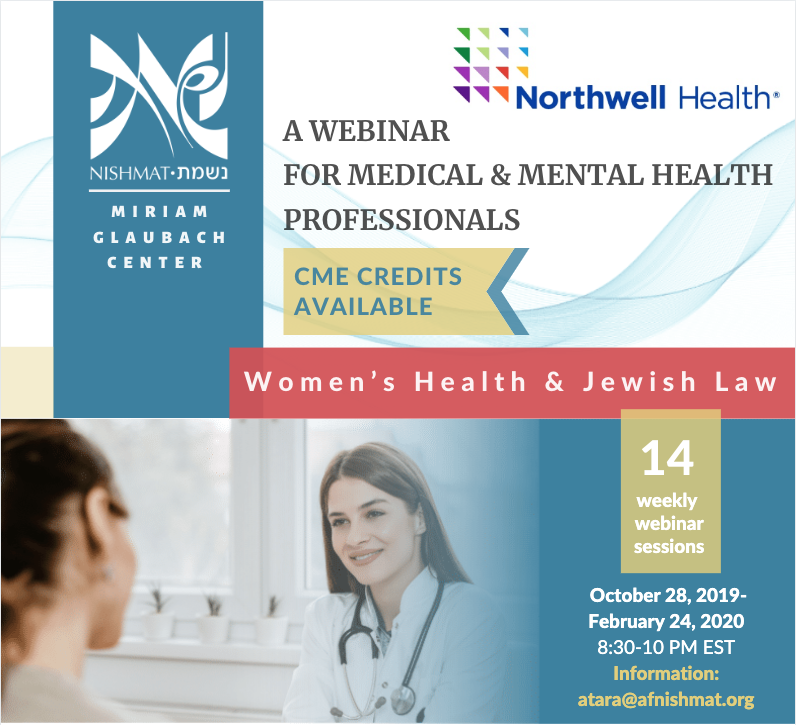 Webinar for Medical & Mental Health Professionals